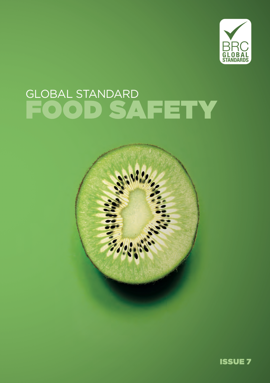 BRC Global Standard for Food Safety 7ª Edição